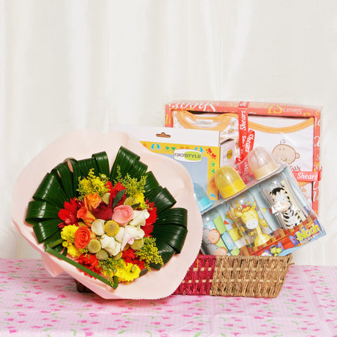 Joyful Blessings KBH0006 | Baby Gift Hamper | Singapore Delivery