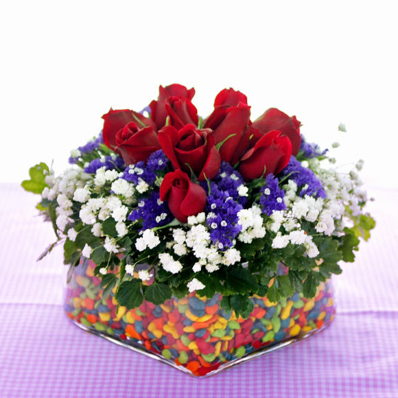 KFA015 | Roses Table Flower