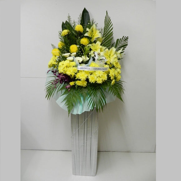KFW0066 Missing You | Condolence Wreath