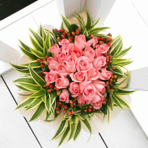All of Me KHB0021 | 24 Rose Bouquet | Katong Flower Shop Free Delivery