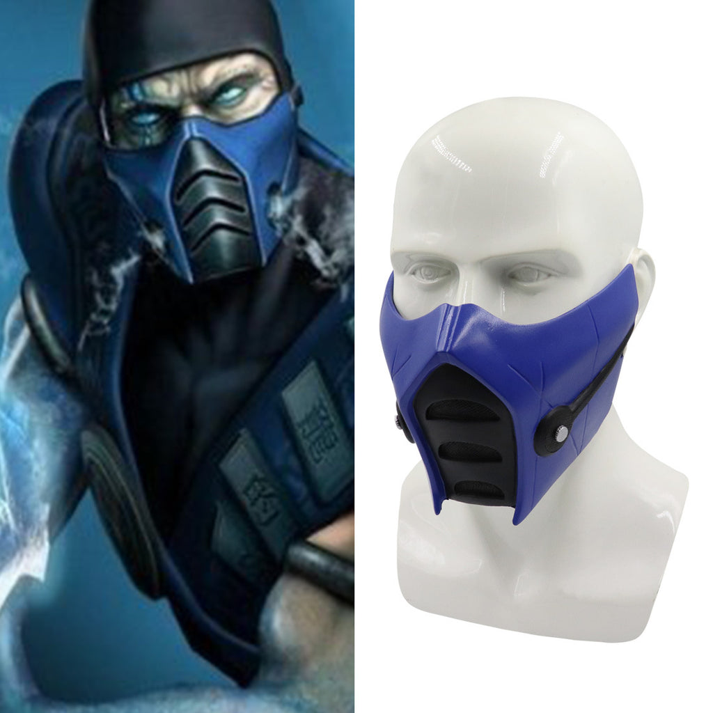 MK 11 Game Cosplay Scorpion Subzero Noob Saibot Mask