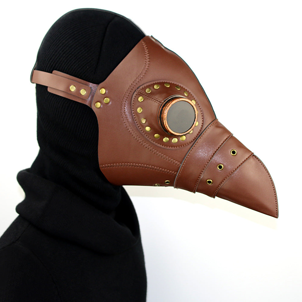 Steampunk Plague Doctor Halloween Mask Gothic Party Cosplay Props Gift