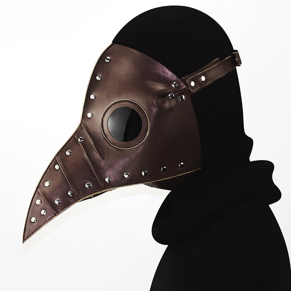 Steel Master Plague Bird Doctor Mask Cosplay Mask