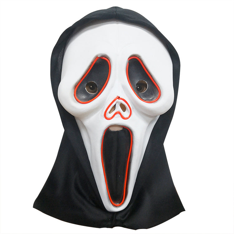 Halloween Scream Horror Grimace Ghost Mask for Cosplay