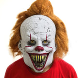 Pennywise Joker Masks Stephen King's It Halloween Cosplay for Adult