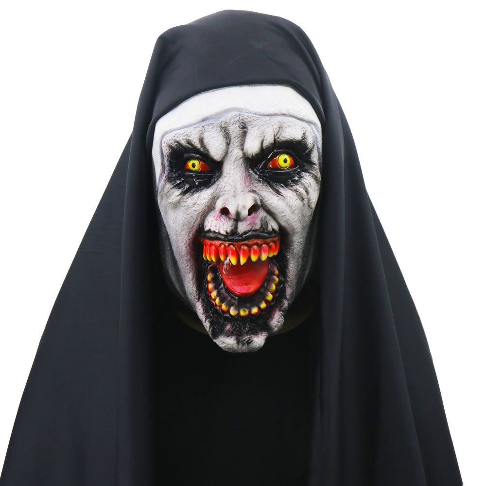 Halloween Sister Virgin Mary Scary Latex Mask