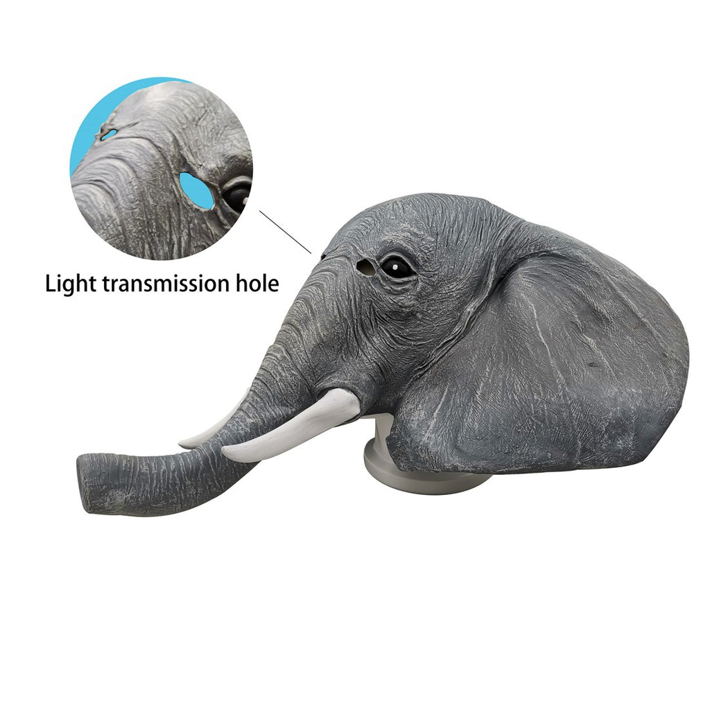 Elephant Adult Head Mask For Halloween