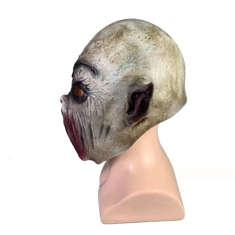 Halloween No Mouth Blame Head Latex Toy