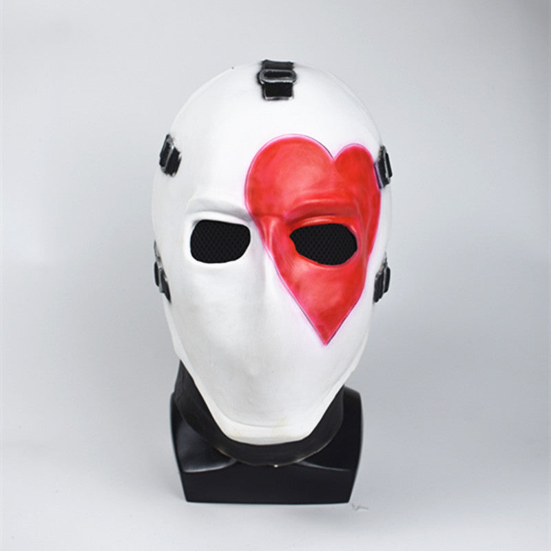 Vercico Square Poker Face Mask Carnival Christmas Halloween Head Mask