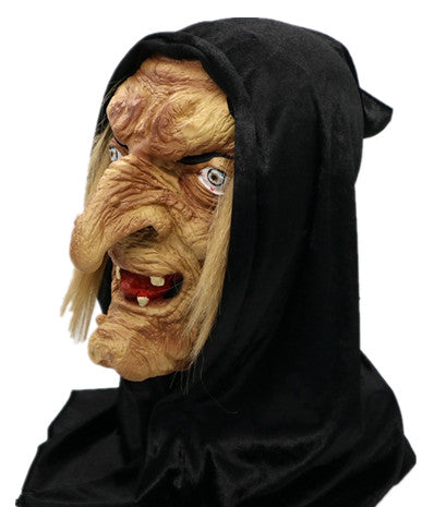 Scary Creepy Halloween Latex Witch Mask