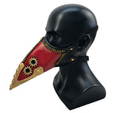 Anime Long Beak Mouth Plague Doctor Halloween Masks