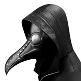 Halloween Black Beak Mask Plague Doctor Bird Mouth Mask