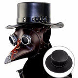 Steampunk PU Leather Neutral Hat Plague Doctor Magic Hat