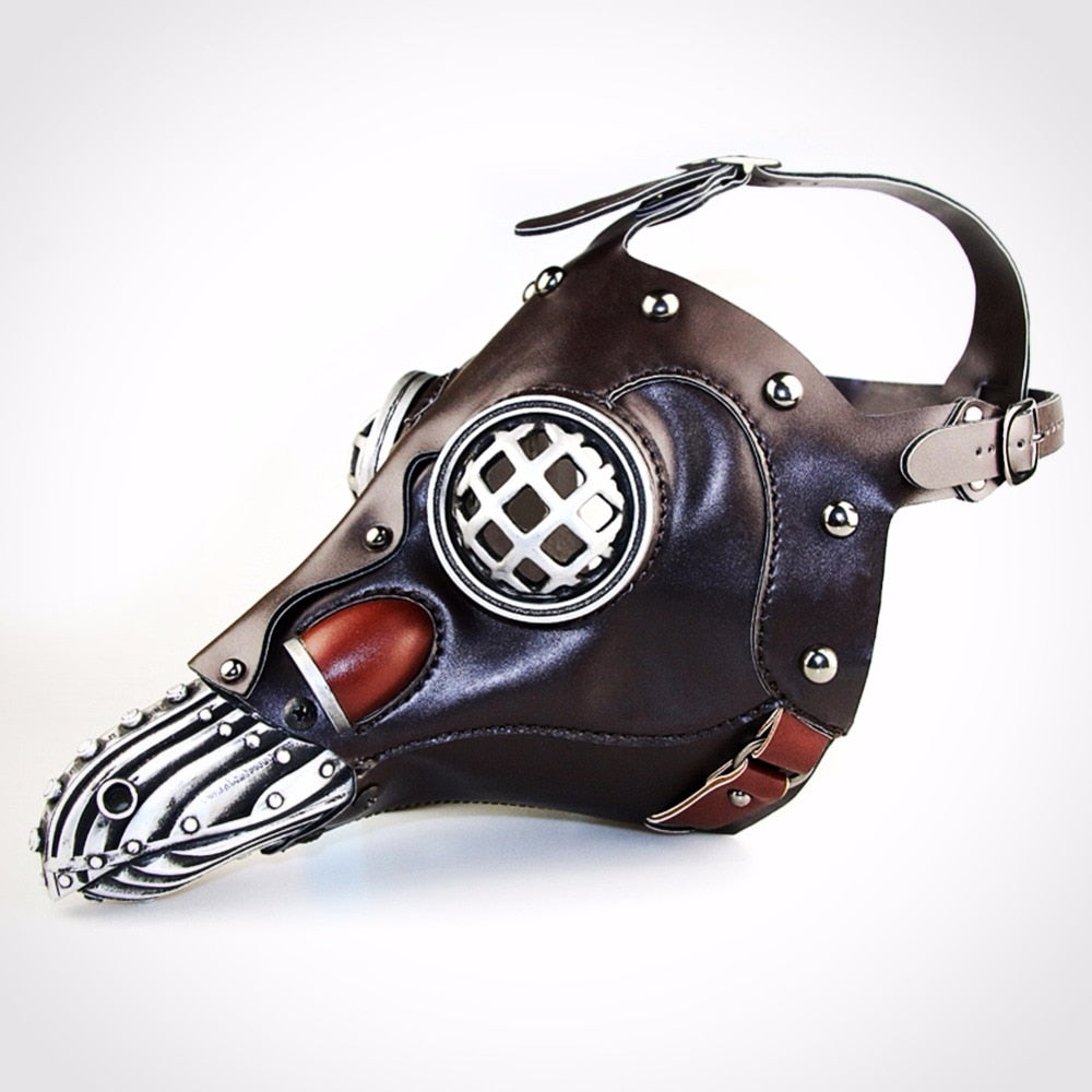 Steampunk Gothic Plague Bird Doctor Full Face Mask