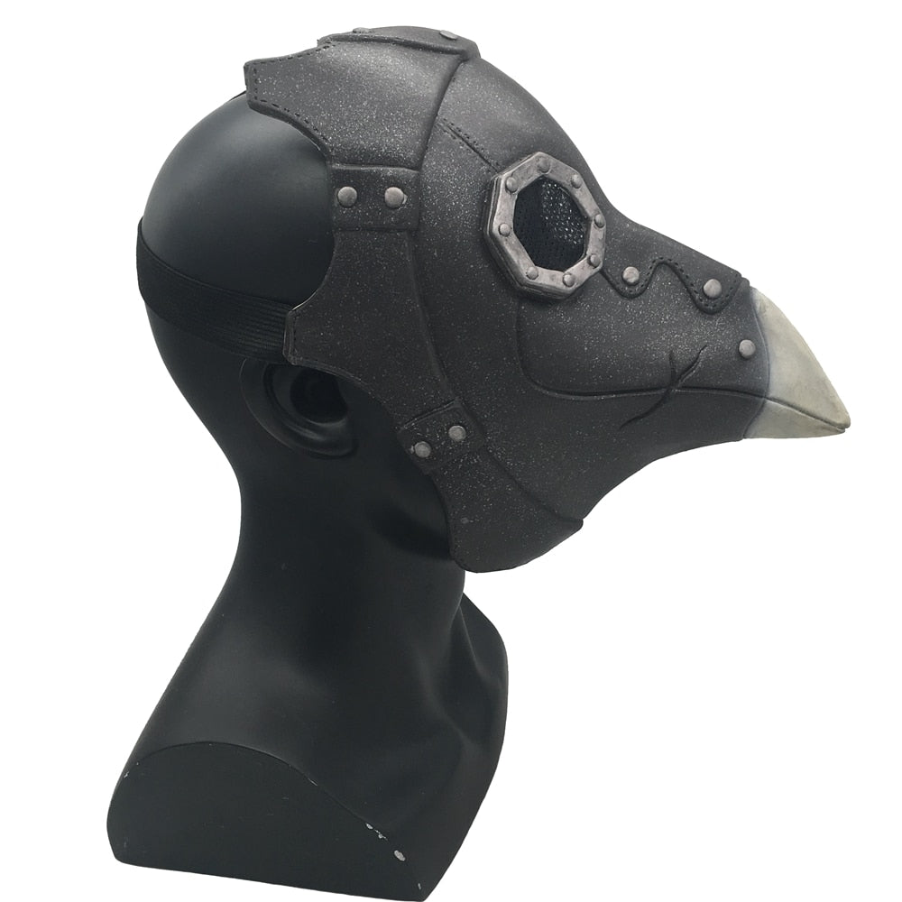 The Plague Doctor Steampunk Bird Mask Masquerade