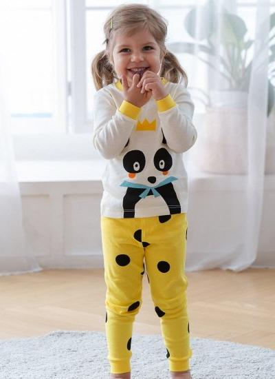 [LAST PIECE] King Panda Pyjamas Set (9-10Y)