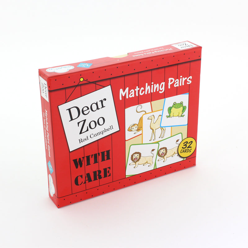 Dear Zoo Matching Pairs Game + Book Set