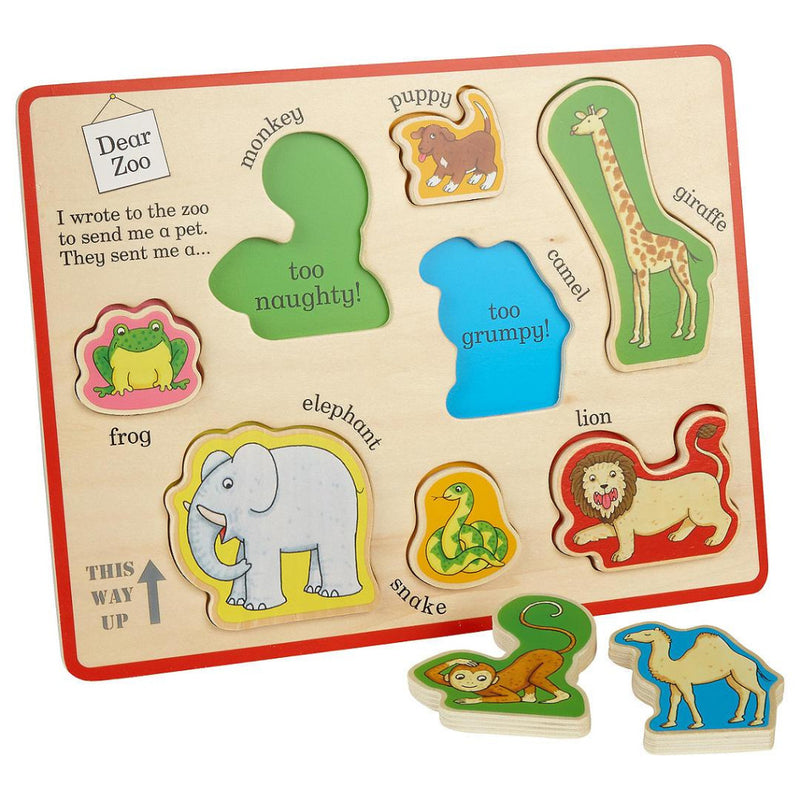 Dear Zoo Snuggle Cloth Book