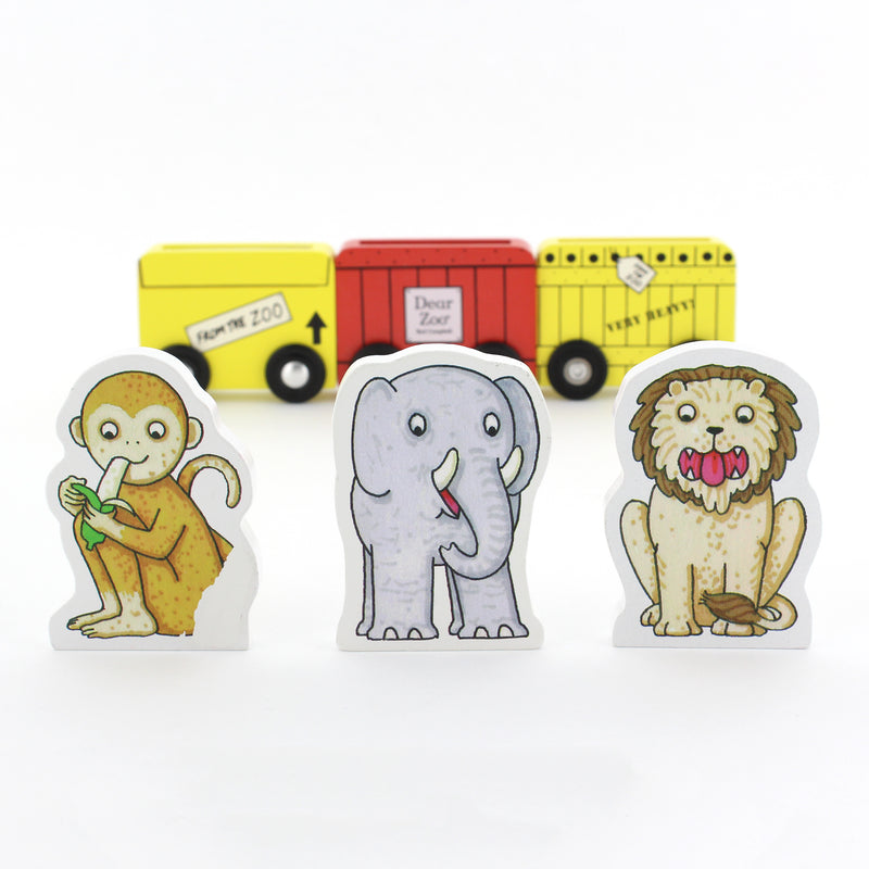 Dear Zoo Wooden Vehicles (set of 3) + Book Set