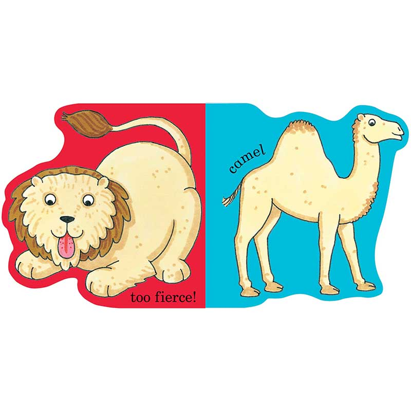 Dear Zoo Animal Shapes Book