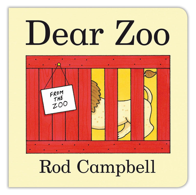 Dear Zoo Wooden Puzzle Tray