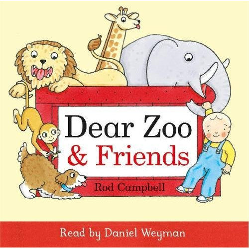 Dear Zoo & Friends Audio CD