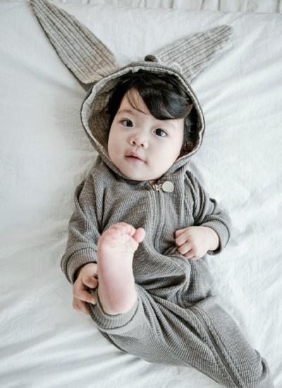 Rabbit Jumpsuit (Grey)