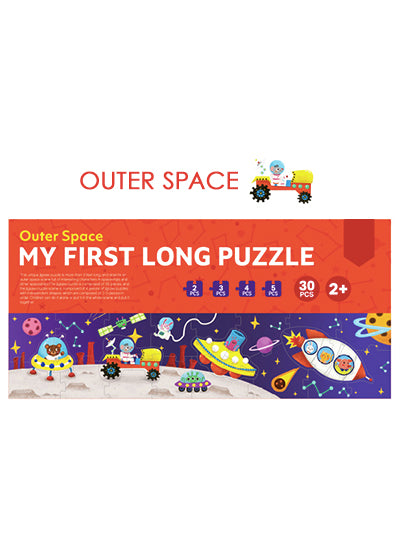 Outer Space 30pc My First Long Puzzle