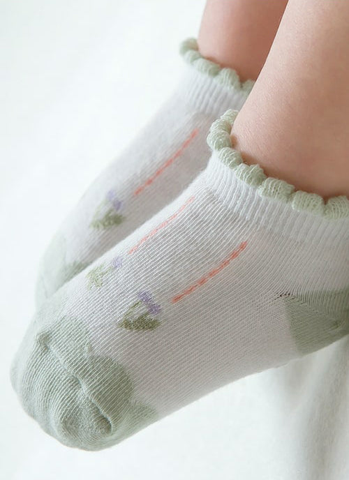 Serina Socks (Mint)