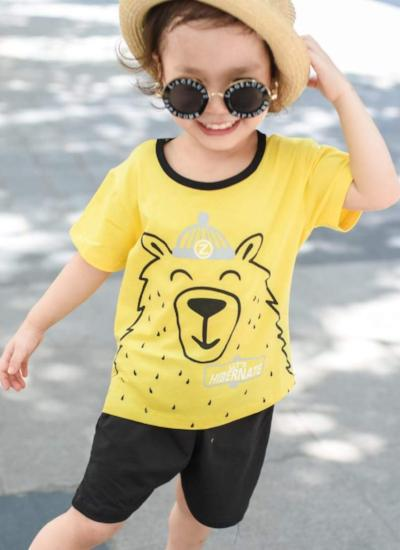 Yogi Bear Tee + Shorts Set