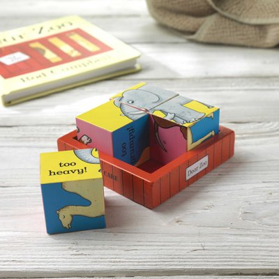Dear Zoo Wooden Puzzle Blocks