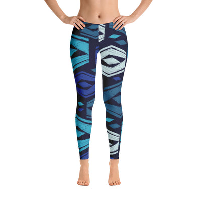 Hexa pattern Leggings - Kopersbay