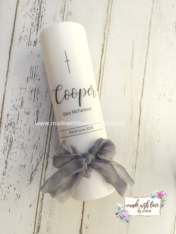 The Original Beauty by Caitlin Personalised Keepsake Candle