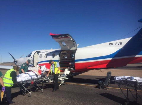 RFDS Premature Baby Flight