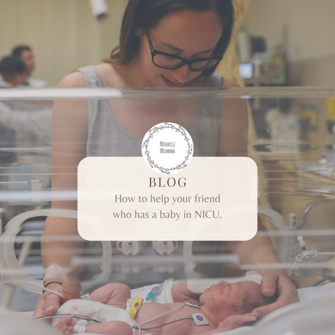 How to help your friend who has baby in NICU