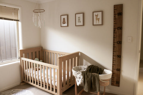 Baby Nursery Rainbow Earthy