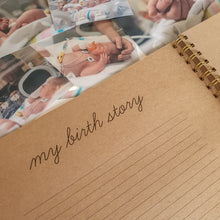 Load image into Gallery viewer, Small but Mighty Premature Baby NICU ScrapBook Baby Book