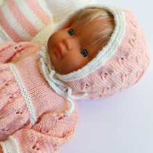 Load image into Gallery viewer, Premmie Knitted Set - Dress & Bonnet