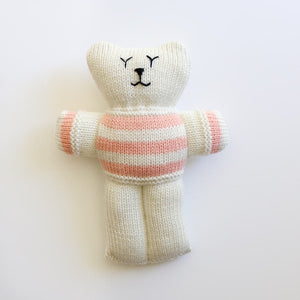Billie the Comparison Bear - Hand-Knitted