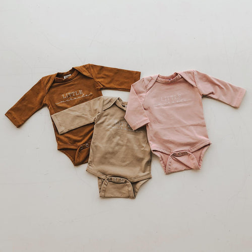 'Little Miracle' Bodysuit - Long Sleeve (3 Colours)