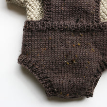 Load image into Gallery viewer, Premmie Knitted Set - Romper & Short-Sleeved Jumper