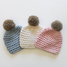 Load image into Gallery viewer, Premmie Pom Pom Beanie - NEW!