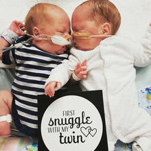 Load image into Gallery viewer, Premature Baby Premmie NICU Twin Milestone Cards Gift