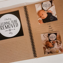 Load image into Gallery viewer, Twin Premature Baby ScrapBook