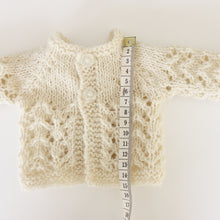 Load image into Gallery viewer, Premmie Knitted Cardigan - Cream