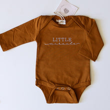 Load image into Gallery viewer, 'Little Miracle' Bodysuit - Long Sleeve (3 Colours)