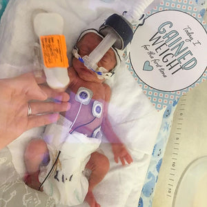 'Aztec Tribal' Premature Baby Milestone Cards