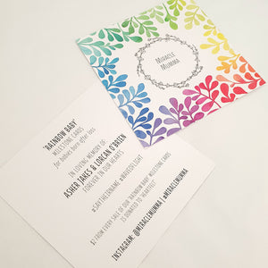 Rainbow Baby Milestone Cards Infertility Miscarriage Pregnancy Loss