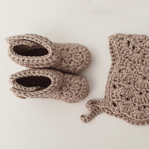 Premature Baby NICU Premmie Baby Bonnet Booties Clothing
