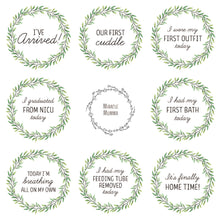 Load image into Gallery viewer, Premature Baby Premmie NICU Milestone Cards Gift